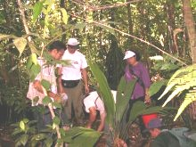 Picture of biodiversity assessment training course